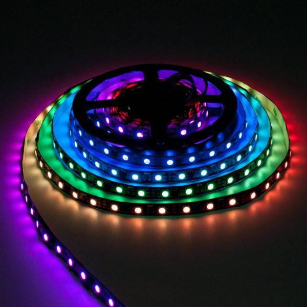 Taśma WS2811 300 LED RGB Czarna HIGHLIGHT