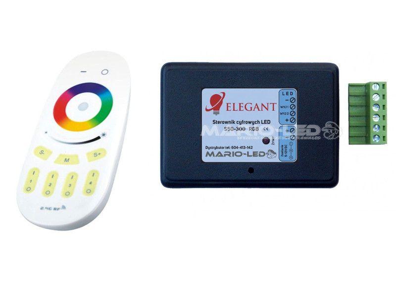 Sterownik Do Taśm Cyfrowych Elegant Rgb S50 300ce