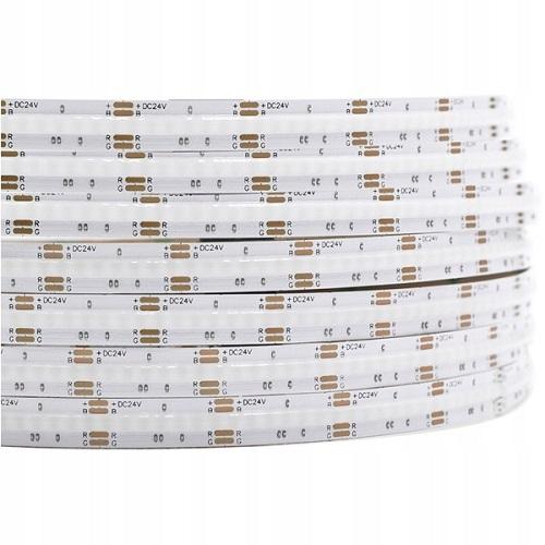 1M Taśma LED COB 756 chips 24V 15W RGB wielokolorowa profesjonalna
