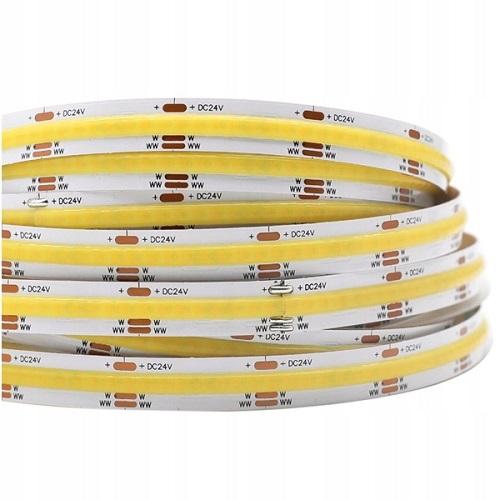1M Taśma LED COB 560 chips 24V 16W 2700-6500K profesjonalna